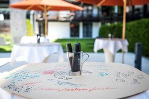 World Cafe Session im Freien (bei Sommer)