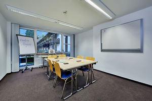 10 Gruppenräume von 14 bis 40 qm stehen zur Verfügung