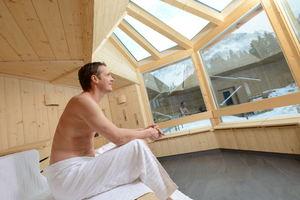 Sauna im Landhaus-Spa