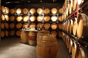 Barriquefass-Keller Weingut Herzog von Württemberg