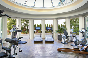 Fitnessbereich im Elyseum Wellness & Spa