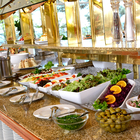 Salatbuffet im Rahmen eines Buffets