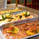 Hauptgänge im Rahmen eines Buffets (Fleisch/Fisch/vegetarisch)