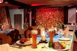 Schwyzer Stübli für Schweizer oder Rhöner Abend